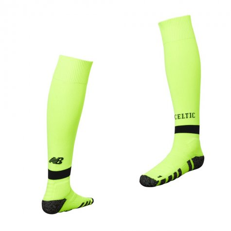 2018-2019 Celtic Third Socks (Yellow)