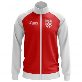 Croatia Concept Football Track Jacket (Red) - Kids
