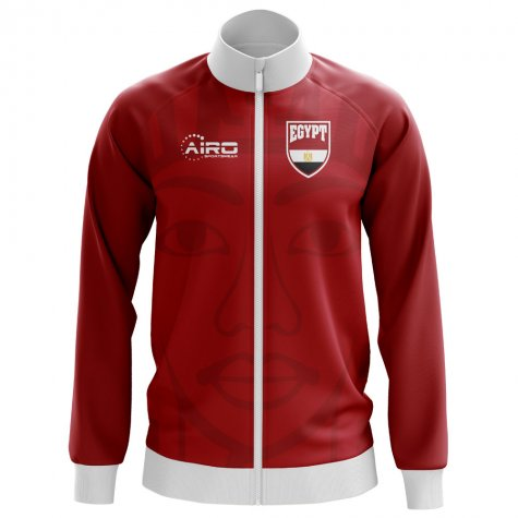 Egypt Concept Football Track Jacket (Red) - Kids