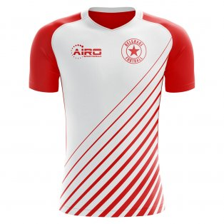 2018-2019 Red Star Belgrade Home Concept Football Shirt