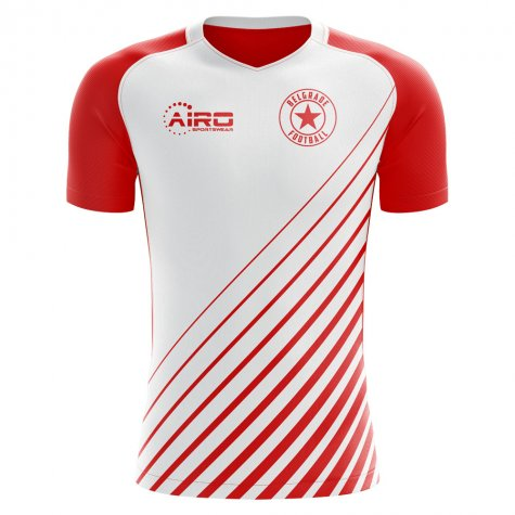 2018-2019 Red Star Belgrade Home Concept Football Shirt