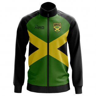 Jamaica Concept Football Track Jacket (Green)