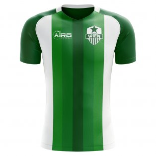 2020-2021 Rapid Wien Home Concept Football Shirt