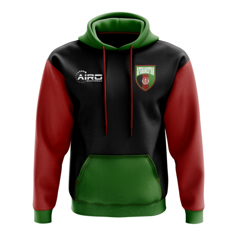 Afghanistan Concept Country Football Hoody (Black)
