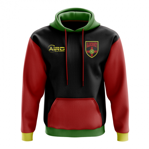 Alderney Concept Country Football Hoody (Black)