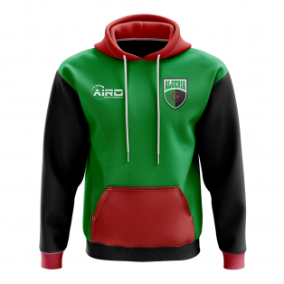 Algeria Concept Country Football Hoody (Green)