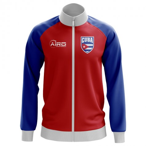 Cuba Concept Football Track Jacket (Red)