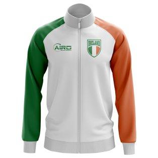 Ireland Concept Football Track Jacket (White)
