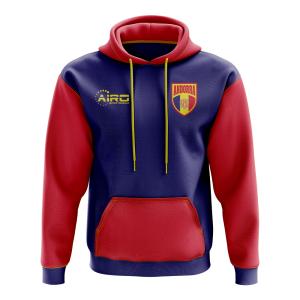 Andorra Concept Country Football Hoody (Navy)