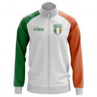 Ireland Concept Football Track Jacket (White) - Kids