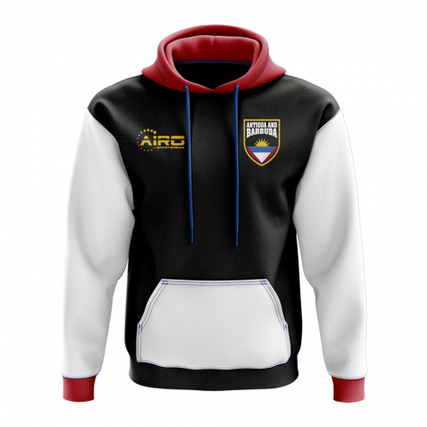 Antigua and Barbuda Concept Country Football Hoody (Black)