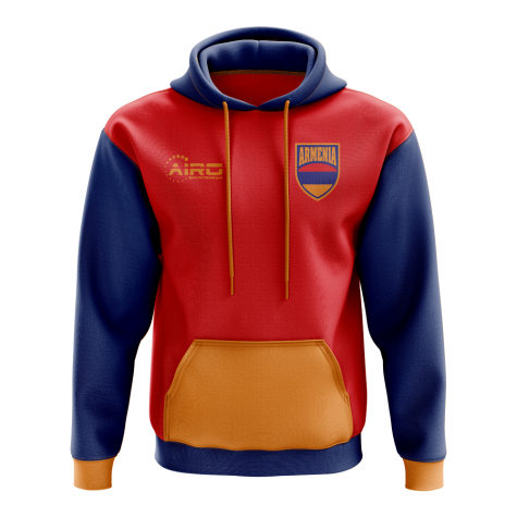 Armenia Concept Country Football Hoody (Red)
