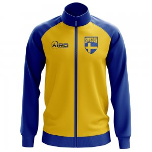 Sweden Concept Football Track Jacket (Yellow) - Kids