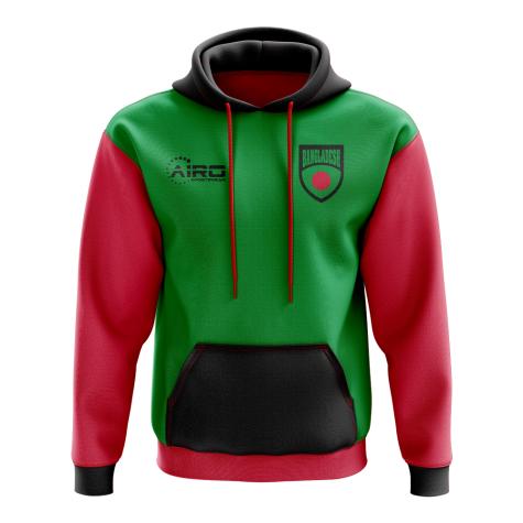 Bangladesh Concept Country Football Hoody (Green)