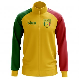 Senegal Concept Football Track Jacket (Yellow) - Kids