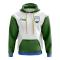 Bashkortostan Concept Country Football Hoody (White)