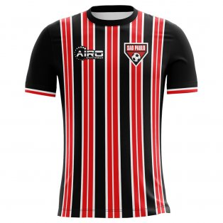 2020-2021 Sao Paolo Home Concept Football Shirt