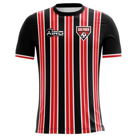 2018-2019 Sao Paolo Home Concept Football Shirt (Kids)