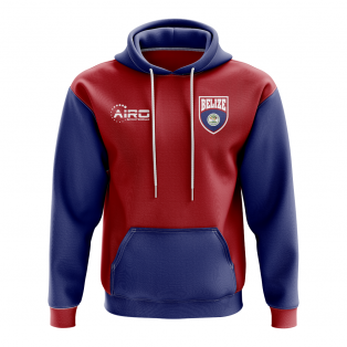 Belize Concept Country Football Hoody (Red)