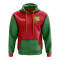 Benin Concept Country Football Hoody (Red)