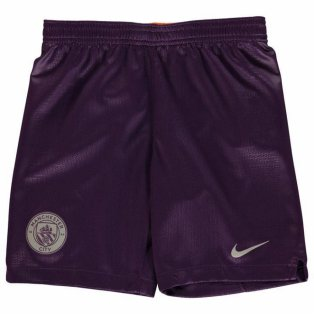 2018-2019 Man City Third Nike Football Shorts (Kids)