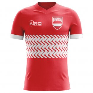 2018-2019 Austria Home Concept Football Shirt