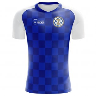 2018-2019 Dinamo Zagreb Home Concept Football Shirt