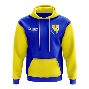 Bosnia Herzegovina Concept Country Football Hoody (Blue)