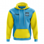 Botswana Concept Country Football Hoody (Sky)
