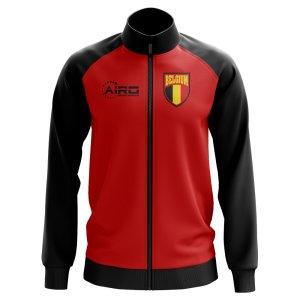 Belgium Concept Football Track Jacket (Red) - Kids