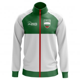 Bulgaria Concept Football Track Jacket (White) - Kids