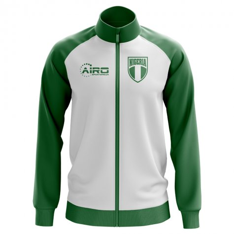 Nigeria Concept Football Track Jacket (White)
