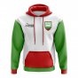 Bulgaria Concept Country Football Hoody (White)