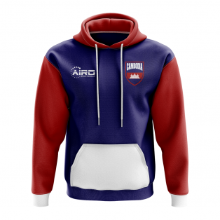 Cambodia Concept Country Football Hoody (Navy)