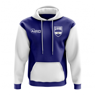 El Salvador Concept Country Football Hoody (Navy)