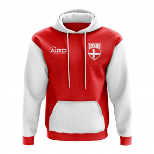Denmark Concept Country Football Hoody (Red)