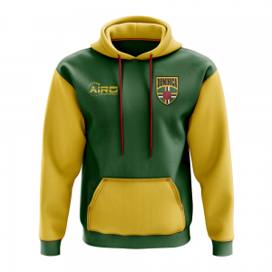 Dominica Concept Country Football Hoody (Green)