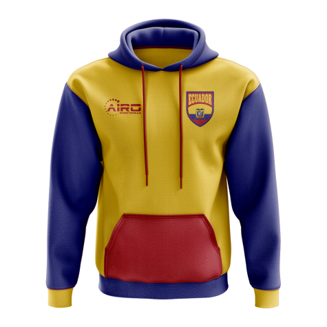 Ecuador Concept Country Football Hoody (Red)