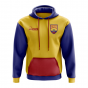 Ecuador Concept Country Football Hoody (Red)