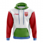 Eritrea Concept Country Football Hoody (White)