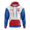 Faroe Islands Concept Country Football Hoody (White)