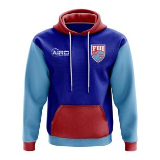Fiji Concept Country Football Hoody (Blue)