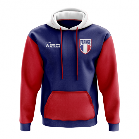 France Concept Country Football Hoody (Blue)