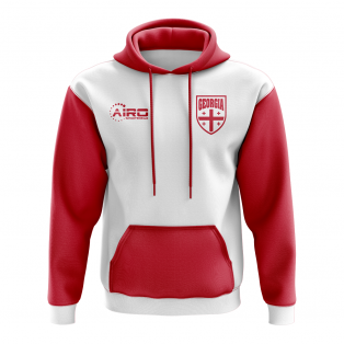 Georgia Concept Country Football Hoody (White)