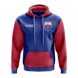 Guam Concept Country Football Hoody (Blue)