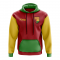 Guinea Bissau Concept Country Football Hoody (Red)