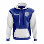 Honduras Concept Country Football Hoody (Blue)