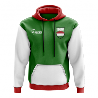 Hungary Concept Country Football Hoody (Green)