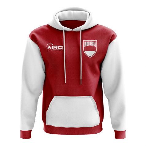 Indonesia Concept Country Football Hoody (Red)