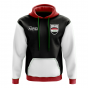 Iraq Concept Country Football Hoody (Black)